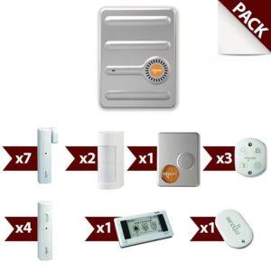 mhouse mak12fr alarme maison sans fil gsm kit 8 pas cher achat vente alarme rueducommerce. Black Bedroom Furniture Sets. Home Design Ideas