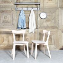 Made In Meubles - Chaise bois massif style scandinave | Ti20W