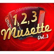 Egt - Compilation - 1 2 3 Musette Vol. 3 Coffret digipack