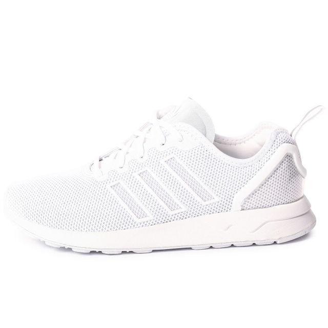 nouveau style 1e87b bd5db adidas zx flux adv enfant blanc