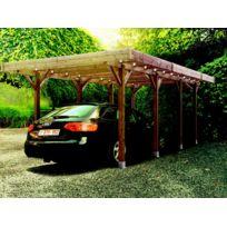 Dedans Dehors - Garage métal Treco 10x15 Zincalume Eco