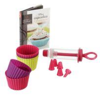 Secret de Gourmet - Coffret Cupcake et livre de recettes