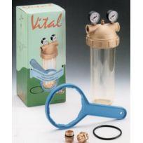 Vital - Accessoire pompe à eau - Filtre avec 2 manomètres