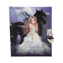 Top Model - Journal Intime Fantasy Violet - Cheval ailé