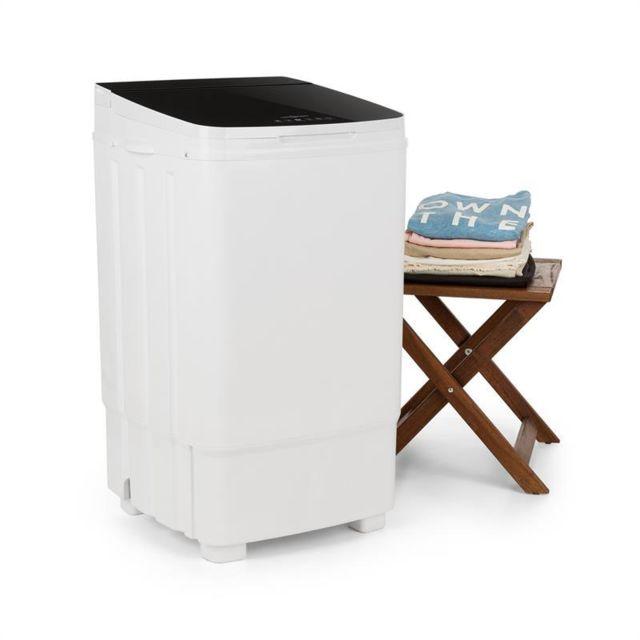 ONECONCEPT Ecowash Deluxe 9 Machine à laver 9kg 400W Minuteur Fonction essorage