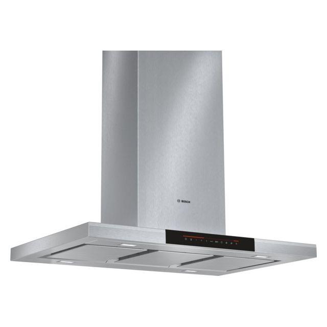 Good Bosch   Hotte Décorative îlot 90cm 40db 850m3/h Inox   Dib091k50