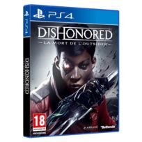 BETHESDA - Dishonored 2 : Mort l Outsider - PS4