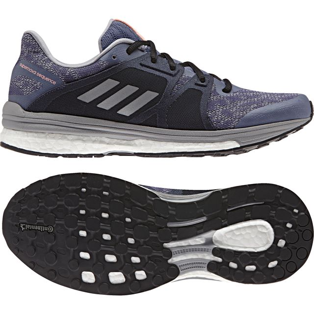 super popular 95eea b1113 Adidas - Chaussures femme Supernova Sequence 9 violet argent gris - 37 1 3  - pas cher Achat   Vente Chaussures running - RueDuCommerce