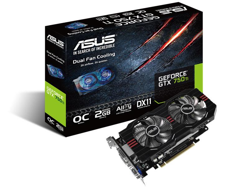 GTX750TI-OC-2GD GeForce GTX 750 Ti OC, 2 Go