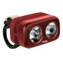 Knog - Blinder Outdoor 250 - Éclairage avant - 1 Led blanche standard rouge