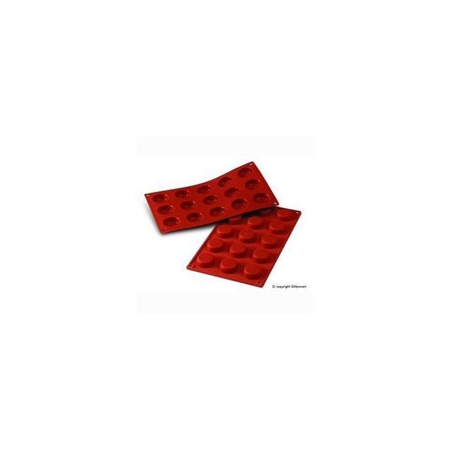 Silikomart Moule à mini tartelettes ou flans