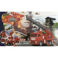 Touslescadeaux - Camion de Pompier - Avec Lance à Incendie - Jouet Enfant