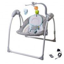 balancelle electrique pour bebe achat balancelle electrique pour bebe pas cher soldes. Black Bedroom Furniture Sets. Home Design Ideas