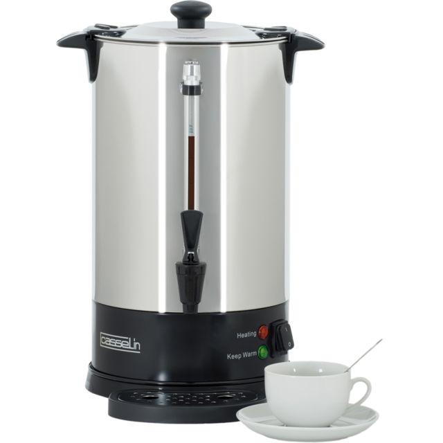 CASSELIN Percolateur à Café 60 Tasses SP Filtre Inox Permanent CPC60S