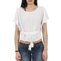 Bsb - tee shirt 037-210092 blanc