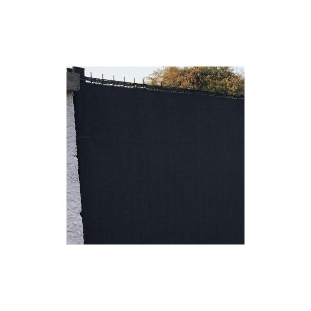 lonodis brise vue gris anthracite 230gr m pro premium rouleau 25m hauteur 120 cm pas. Black Bedroom Furniture Sets. Home Design Ideas