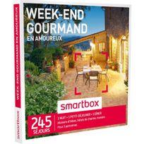 Smartbox - Week-end gourmand en amoureux - 245 séjours partout en France ou en Europe : maisons d'hôtes, hôtels de charme, châteaux ou manoirs - Coffret Cadeau