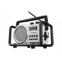 Perfect Pro - Radio de chantier 5 Watts USB , Sd , Mp3, + 4 pies rechargeables - Usbbox 2