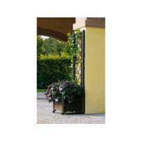 Habitat et Jardin - Bac Italia - 43 x 43 x H 142 cm - Marron
