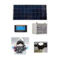 Ecolodis - Kit pompe solaire de surface Shurflo avec batterie