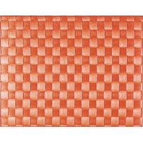 Saleen - Set De Table Tissé 40x30 Cm - Rouge Capri