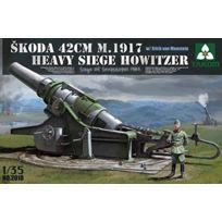 Takom - 1:35 - Skoda 42CM M1917 Heavy Siege Howitzer W/ Figure