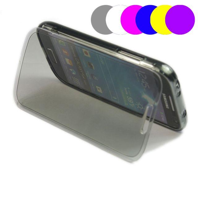Lapinette - Etui Housse Coque Gel Rabat Pour Samsung Galaxy S4 Mini