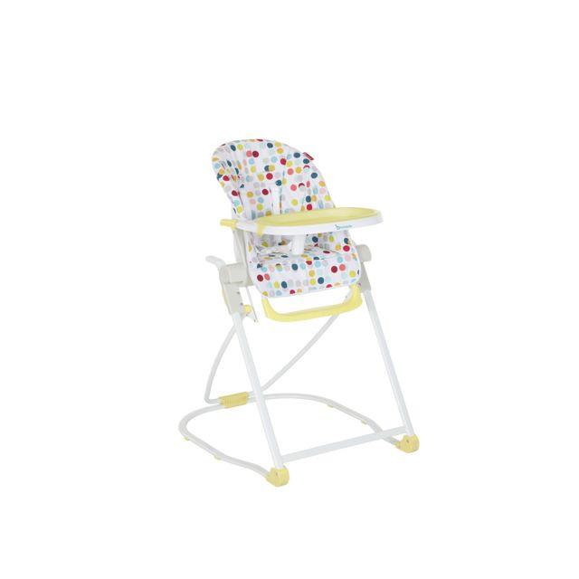 badabulle chaise haute compacte pas cher achat vente chaises hautes rueducommerce. Black Bedroom Furniture Sets. Home Design Ideas