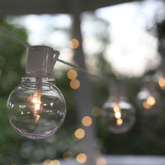 Best Season Party Light - Guirlande Led d'extérieur Blanc 16 Ampoules L9,5m - Luminaire d'extérieur designé par