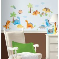 Roommates - Stickers BÉBÉS Dinosaures Repositionnables 42 stickers