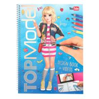 Mode Top Model Coloriage Fille.Album Top Model Design Book Et Videos Jenny