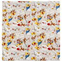 Hoomark - Papier cadeau Winnie - 200 x 70 cm Blanc