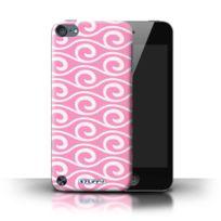 Stuff4 - Coque de / Coque/Etui/Housse pour Apple iPod Touch 5 5th Generation, / Rose Design / Motif ondes chic Collection