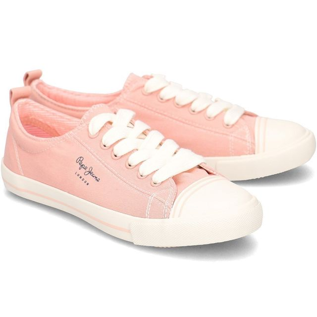 Pepe Jeans Gery Bass pas cher Achat Vente Baskets