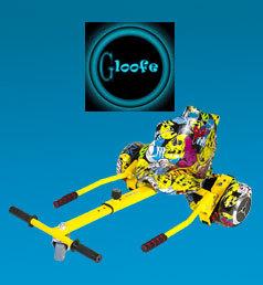 GLOOFE Hoverkarts  combinant hoverboard et hoverkart à prix mini, vous allez joindre l'utile à l'agréable !