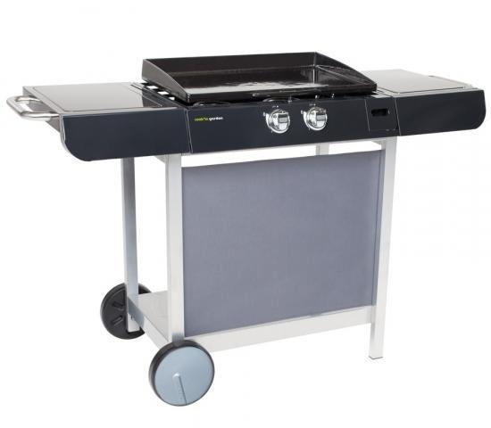 Cook'in Garden - Plancha gaz Finesta 63 Sur Chariot