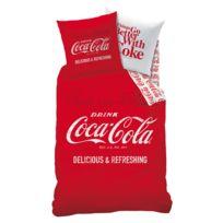 Housses de couette coca cola achat housses de couette coca cola pas cher rue du commerce - Housse de couette coca cola ...