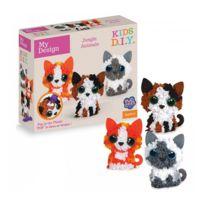 The Orb Factory - PlushCraft Pack design kitten 3D Minis