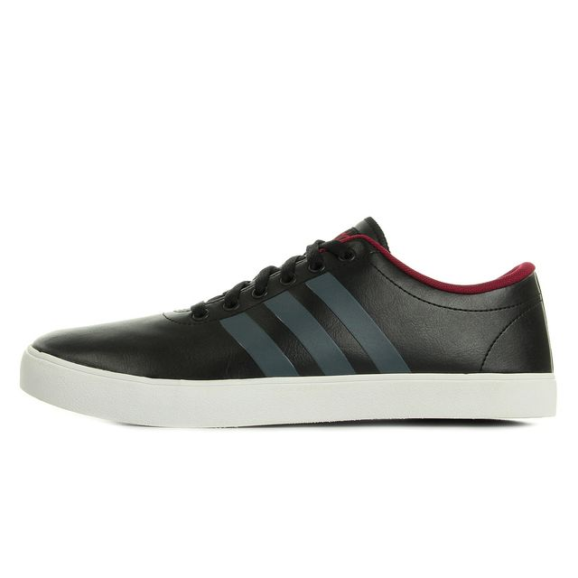 Adidas Neo - Easy Vulc Vs Noir, Gris, Bordeaux