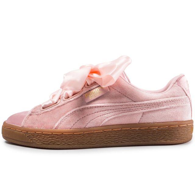 new product 341e4 0e45d 12493-chaussures-puma-basket-heart-rose-vue-exterieure.jpg