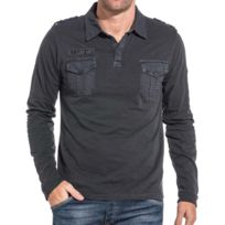 Columbia Polo Fields Of Grey Long Sleeve Polo Columbia Soldes QR7A9ULHo