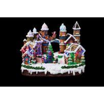 Feerie Christmas - Village de Noël Gourmandises - Lumineux, animé et musical