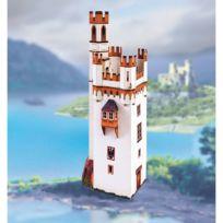 Schreiber-bogen - Maquette en carton : Mäuseturm de Bingen Mouse Tower Allemagne