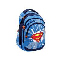 Superman - Sac à dos 44 Cm Haut de Gamme - 2 cpt