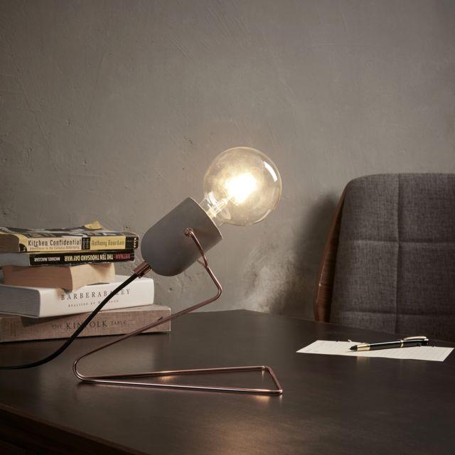 Eu Lampe Vn L00023 Rétro Chevet Pettit Industriel Bureau Rose De Minimaliste 7gbyYf6