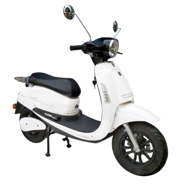 eurocka scooter lectrique cka slide bl batterie lithium. Black Bedroom Furniture Sets. Home Design Ideas
