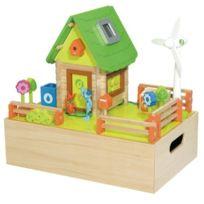 House Of Toys - Jouet en Bois Jeu de Construction La Maison Verte Coffret Bois