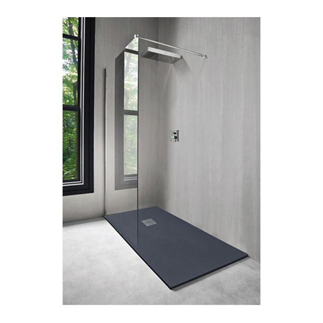 evidence receveur de douche en r sine 90x160 anthracite. Black Bedroom Furniture Sets. Home Design Ideas