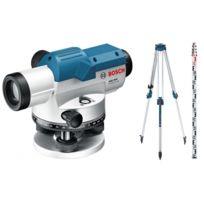 Bosch - Niveau optique jusqu à 100m + Trépied + Mire pack extérieur Gol 26 afa6b47314f5