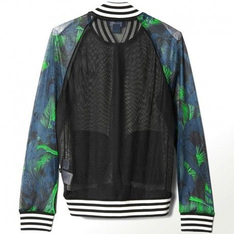 Adidas originals Veste Hawai Superstar Vert Femme Adidas